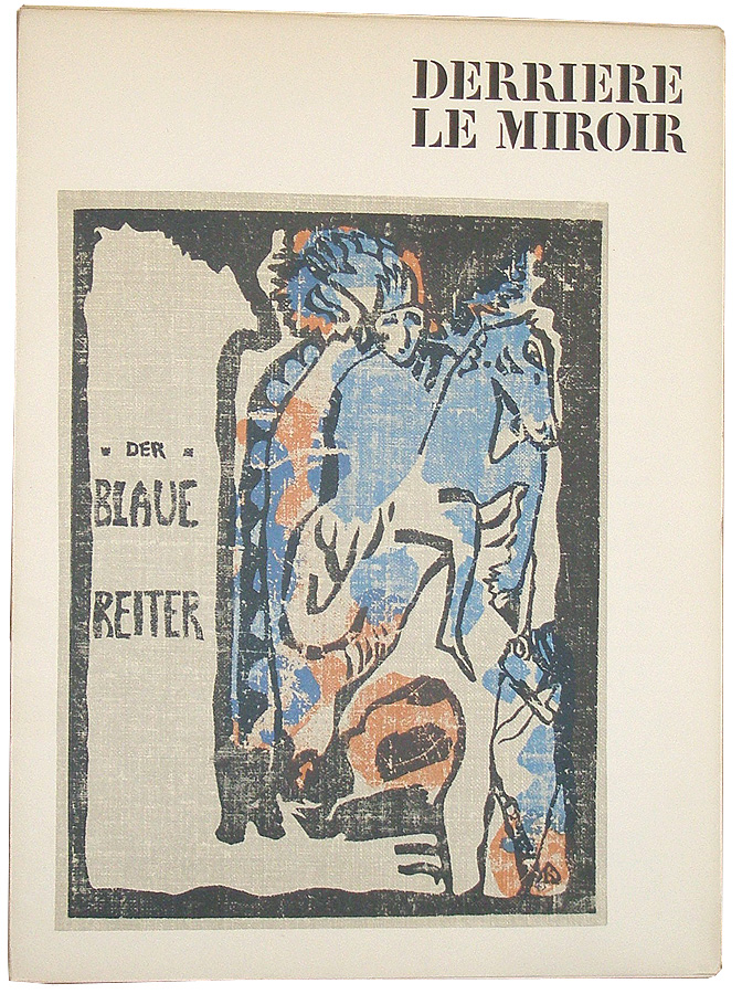 Derri re le miroir no 133 134 der blaue reiter aim for Maeght derriere le miroir