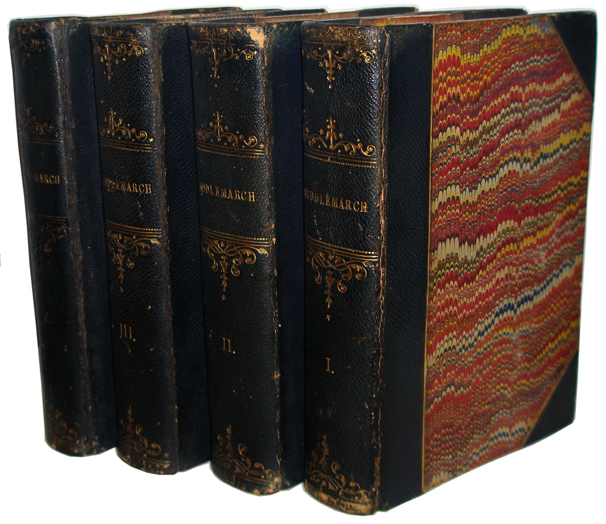 Middlemarch: A Study of Provincial Life - George Eliot - 1st