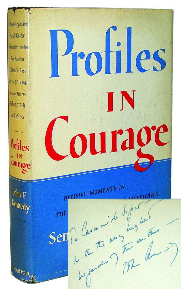 john f kennedy profiles in courage essay Learn more about the special contest topic which pays tribute to the 100th anniversary of jfks birthjohn f kennedy profile in courage essay contest.