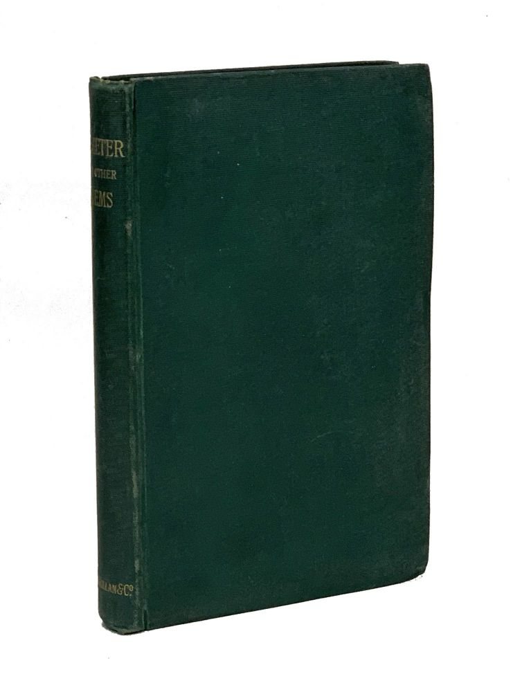 Demeter and Other Poems. Alfred Lord Tennyson.