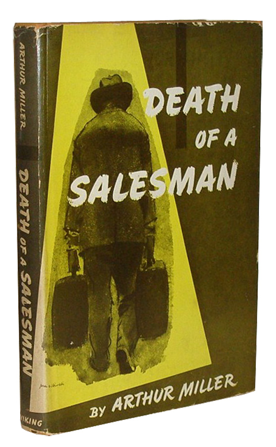 Death of a Salesman Certain Private Conversations in Two Acts and a  Requiem by Arthur Miller on B \u0026 B Rare Books, Ltd