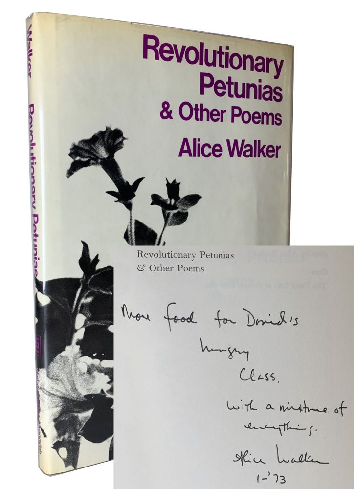 Revolutionary Petunias & Other Poems. Alice Walker.