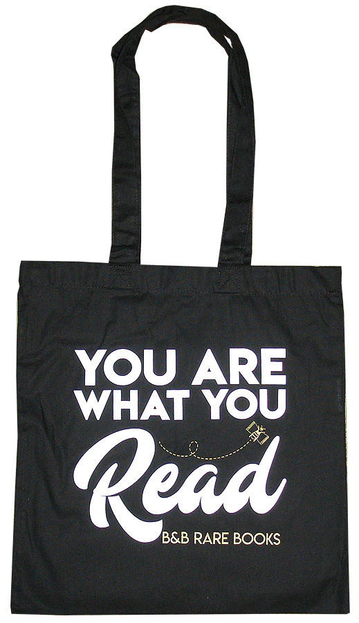 """You Are What You Read"" B, B Tote."