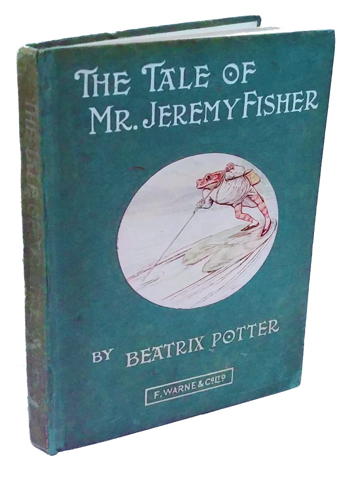 The Tale of Mr. Jeremy Fisher. Beatrix Potter.
