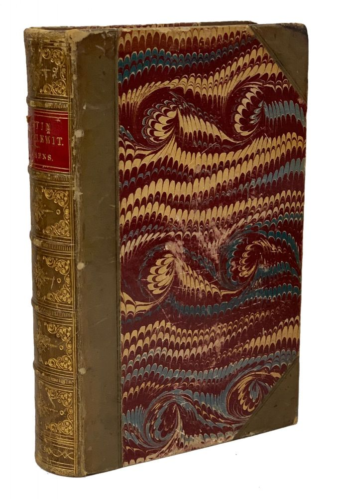 The Life and Adventures of Martin Chuzzlewit. Charles Dickens.