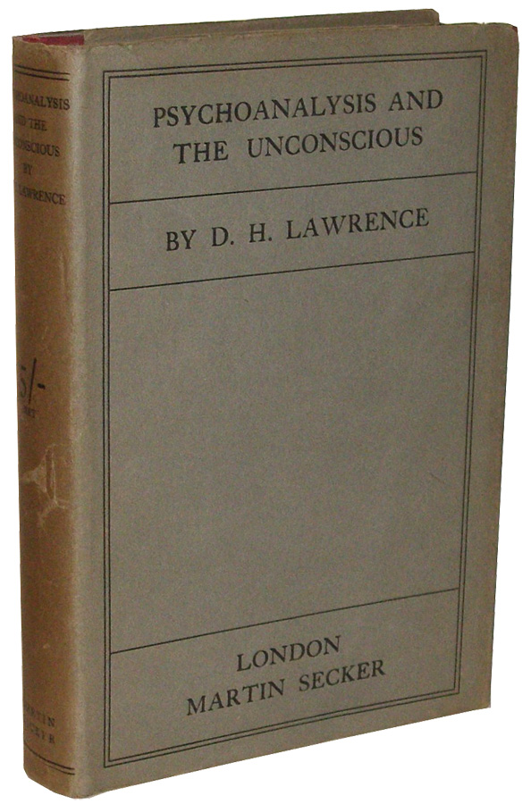 Psychoanalysis and the Unconscious. D. H. Lawrence, David Herbert.