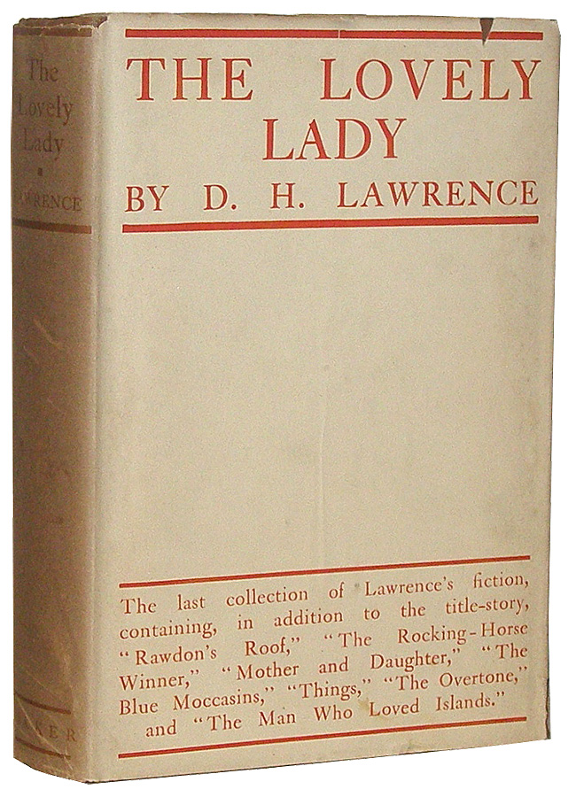 The Lovely Lady. D. H. Lawrence, David Herbert.