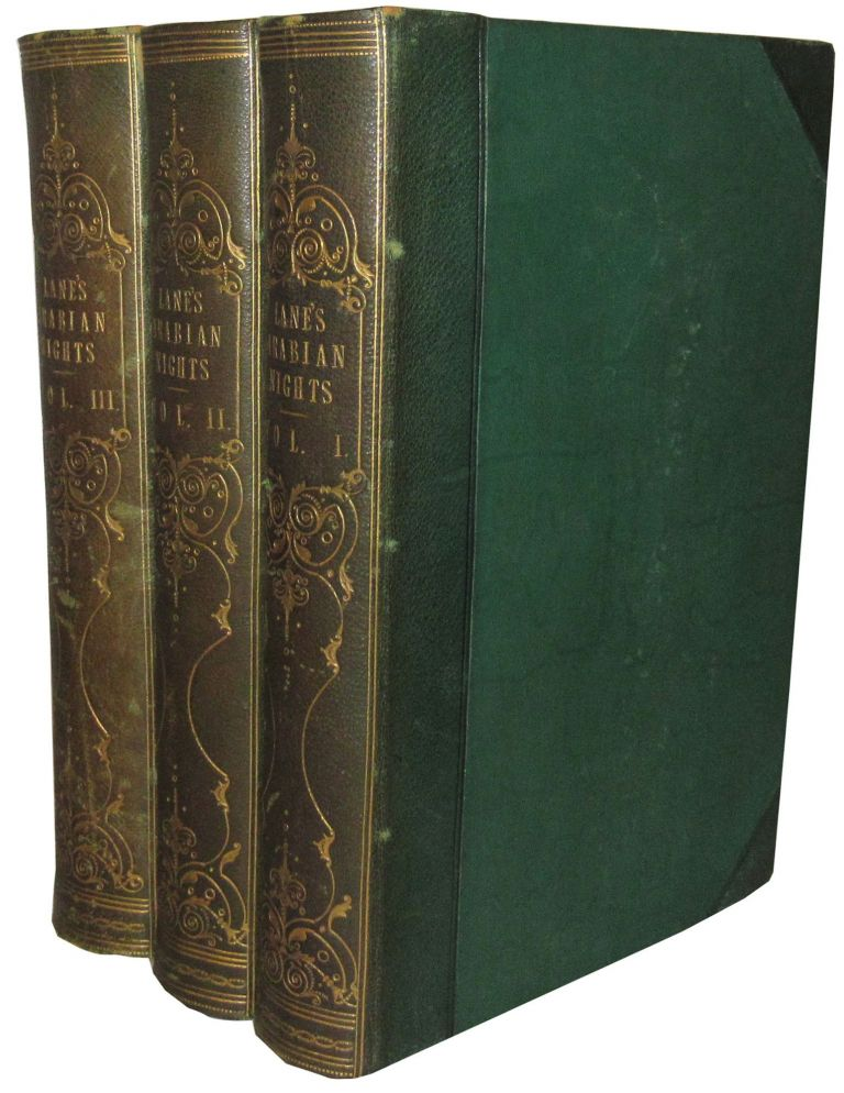 The Thousand and One Nights, Commonly Called, in England, The Arabian Nights' Entertainments. A New Translation with Copious Notes. Edward William Lane.