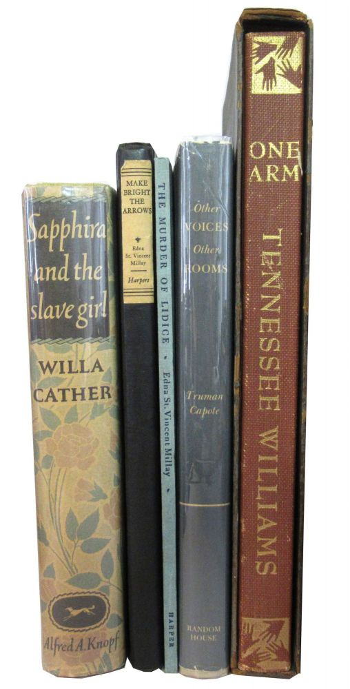 Group of 5 books from the 1940s. Authors.