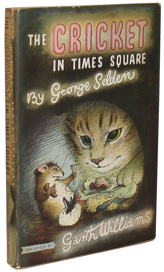 The Cricket In Times Square George Selden First Edition