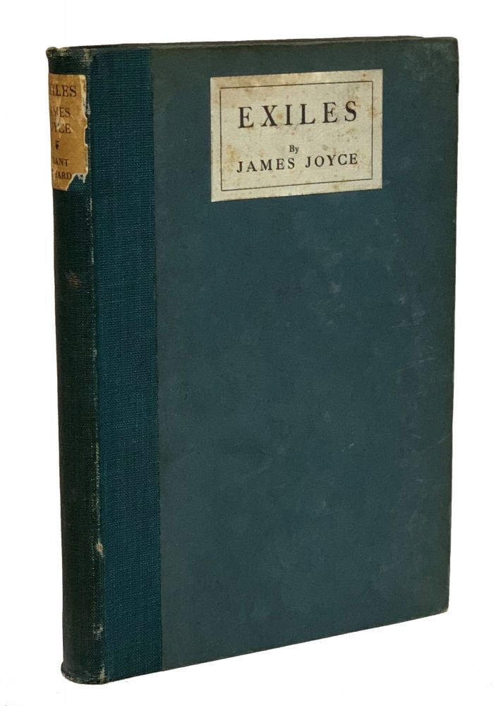 Exiles. James Joyce.