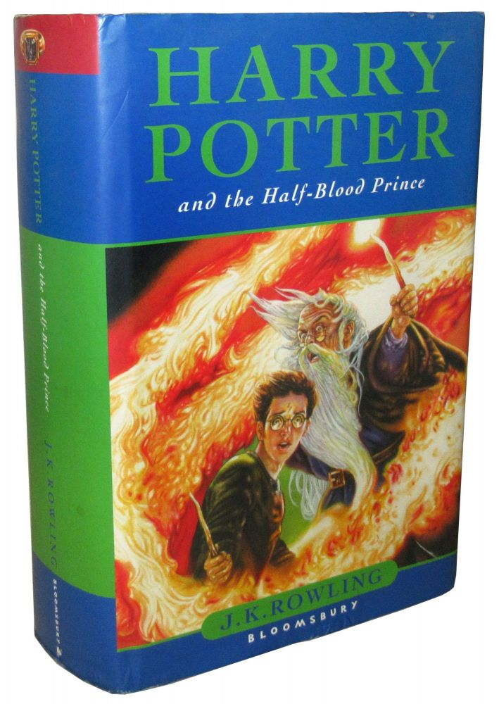 Harry Potter and the Half Blood Prince. J. K. Rowling.