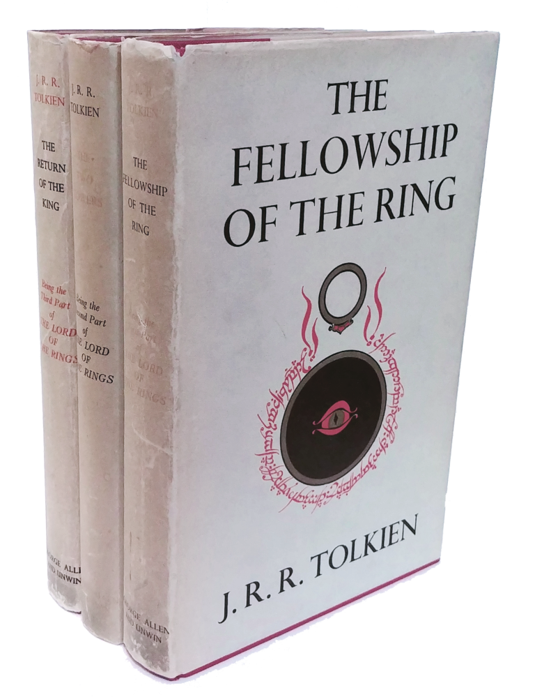 The Lord Of the Rings: The Fellowship of the Ring, The Two Towers, and The Return of The King. J. R. R. Tolkien, John Ronald Reuel.