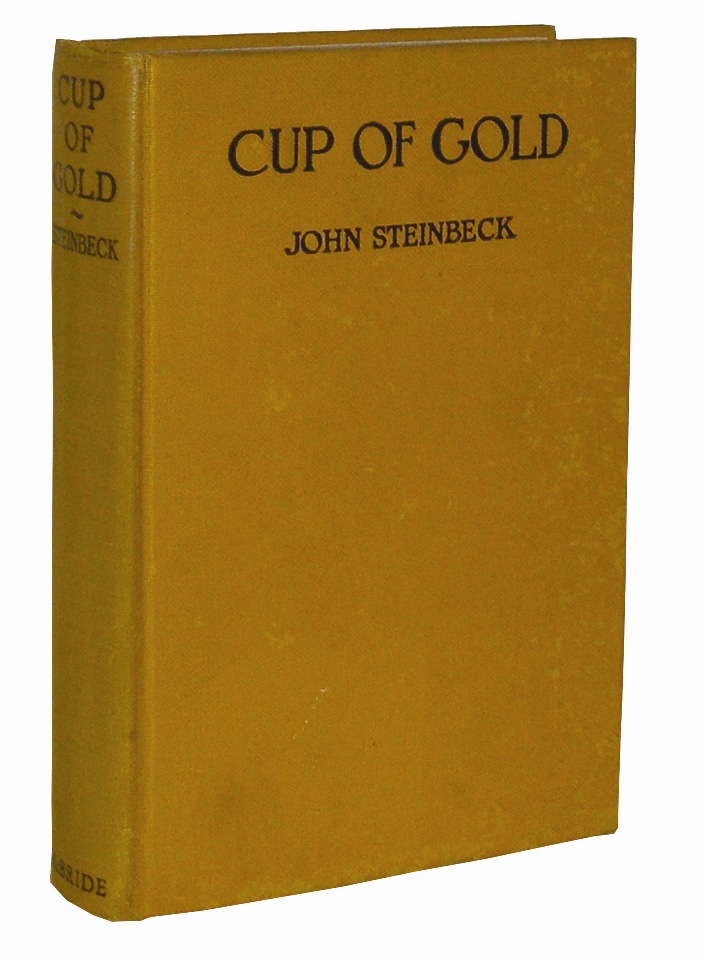 Cup of Gold: A Life of Henry Morgan, Buccaneer, with Occasional Reference to History. John Steinbeck.