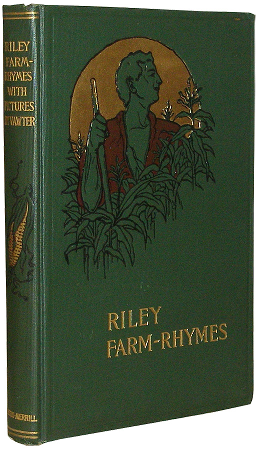 Farm Rhymes James Whitcomb Riley Vawter Illustrated 1905 RARE GC 17-2Q