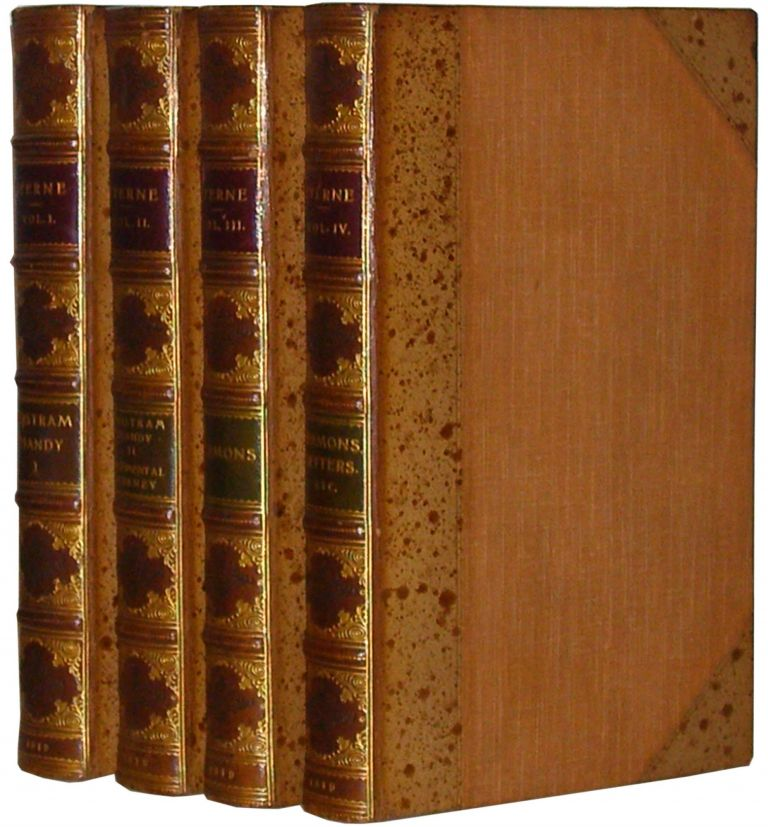 The Works of Laurence Sterne, In Four Volumes. With The Life of the Author, Written By Himself. Laurence Sterne.