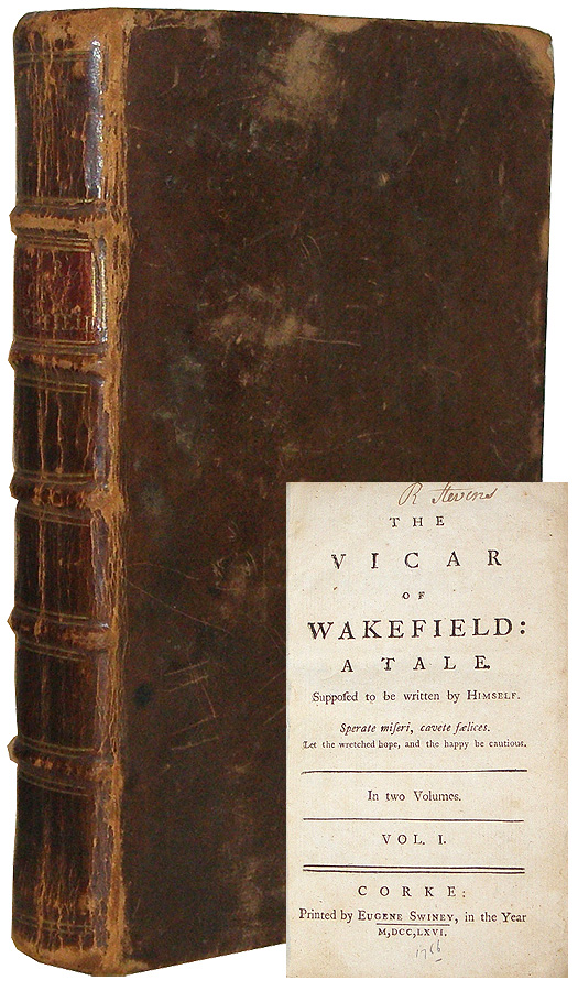 The Vicar of Wakefield: A Tale. Oliver Goldsmith.