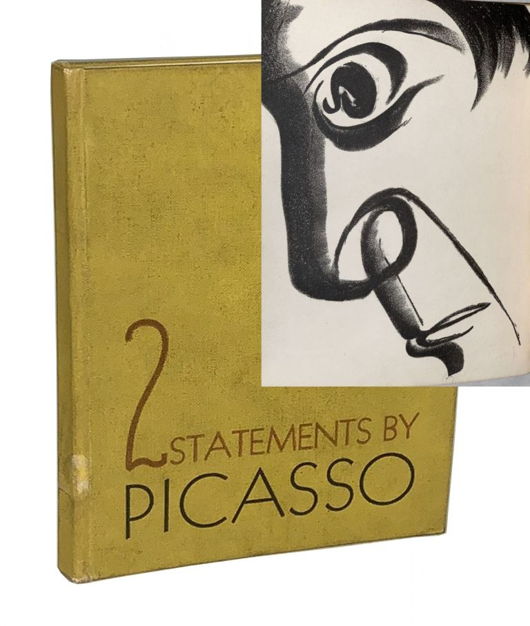2 Statements by Picasso. Also a Comment by Merle Armitage. Pablo Picasso, Merle Armitage.