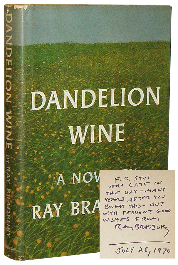 a summary of dandelion wine by ray bradbury Dandelion wine has 42,871 ratings and 3,485 reviews peter said: the only reason i gave this book five stars was because i couldn't give it five thousand.