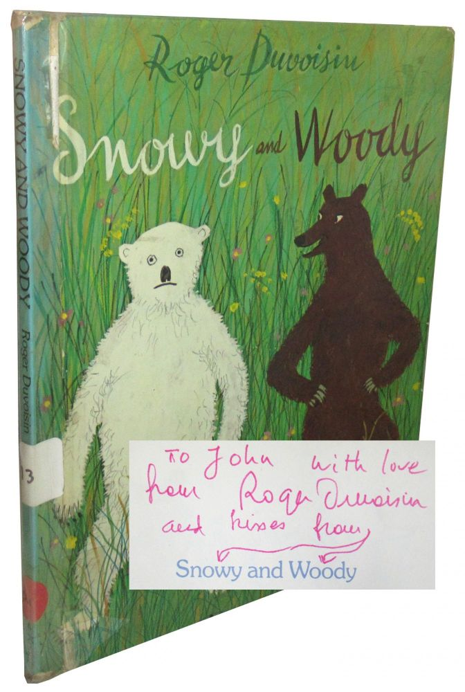 Snowy and Woody. Roger Duvoisin.