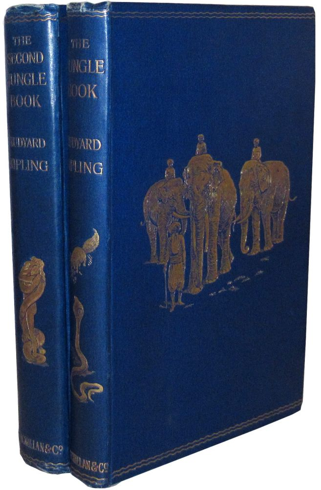 The Jungle Book and The Second Jungle Book. Rudyard Kipling.