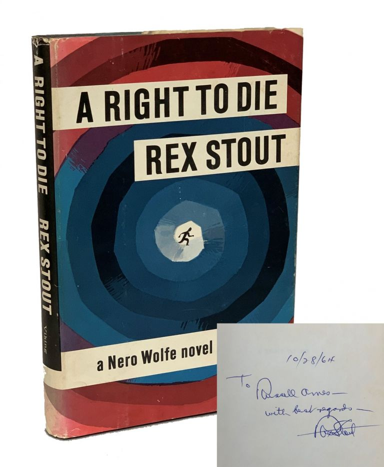 A Right to Die. Rex Stout.