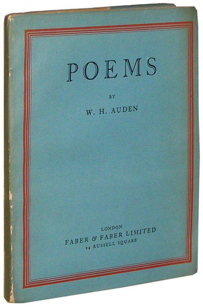 Poems. W. H. Auden.