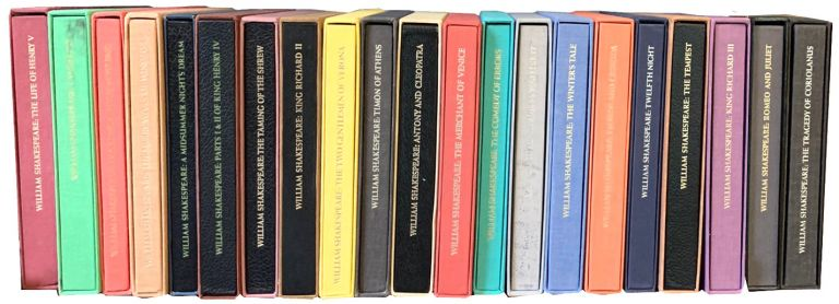 Group of 21 Special Illustrated Editions of Shakespeare's Plays. William Shakespeare.