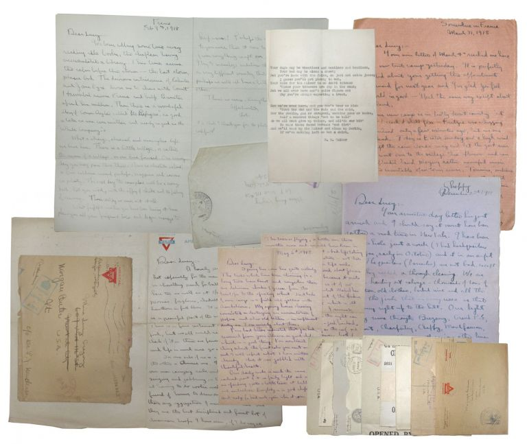 Collection of letters from the front, WWI. Robert Henderson.