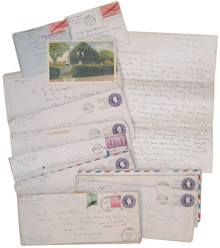 American WWII Letters. Antoinette M. Vigeant.