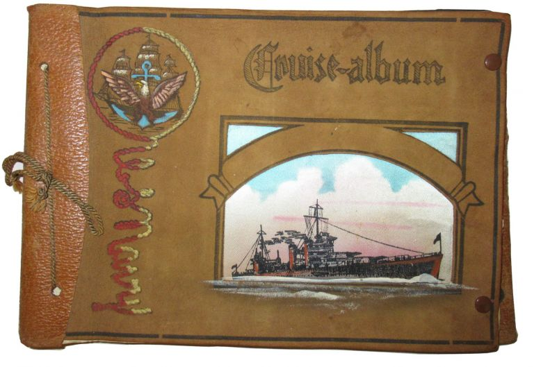 Cruise Album: A collection of 49 original photographs of members of the U.S. Navy and related subjects during WWII. WWII.