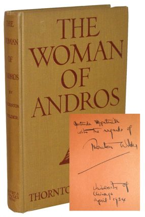 Search Results For Category Signed Books Author Thornton Wilder
