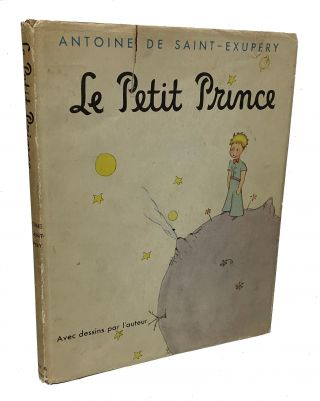 Le Petit Prince (The Little Prince). Antoine de Saint-Exupéry