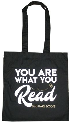 """You Are What You Read"" B, B Tote"