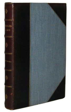 The Essays of Elia. Charles Lamb