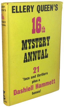 Ellery Queen's 16th Mystery Annual: The Year's Best, From Ellery Queen's Mystery Magazine....