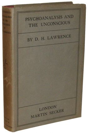 Psychoanalysis and the Unconscious. D. H. Lawrence, David Herbert