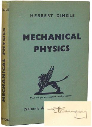 Mechanical Physics and The Air Cadet's Handbook on How to Pilot an Aeroplane