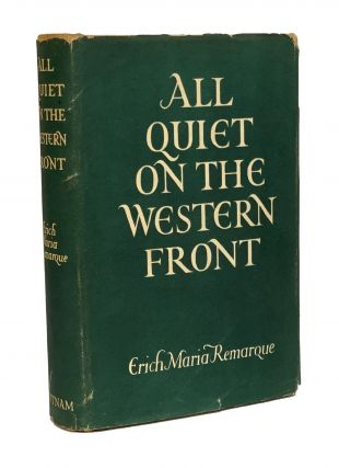 All Quiet on the Western Front. Erich Maria Remarque