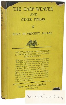 The Harp-Weaver and Other Poems. Edna St. Vincent Millay.