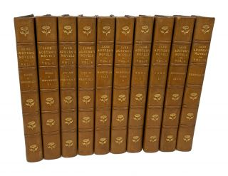 The Novels of Jane Austen (In Ten Volumes): Sense & Sensibility, Pride & Prejudice,...