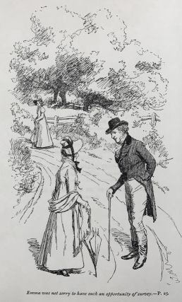 Sense and Sensibility, Pride and Prejudice, Mansfield Park, Emma, Northanger Abbey & Persuasion. Illustrations by Hugh Thomson. With an Introduction by Austin Dobson.