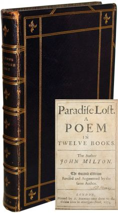 Paradise Lost. A Poem in Twelve Books. John Milton