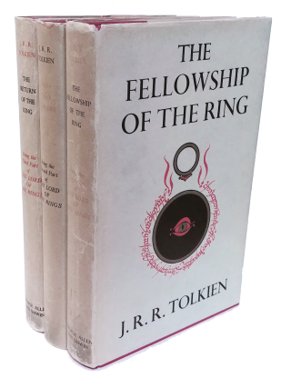 The Lord Of the Rings: The Fellowship of the Ring, The Two Towers, and The Return of The King. J....