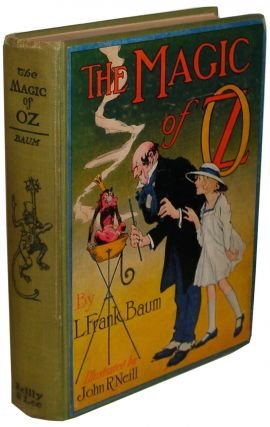 The Magic of Oz. L. Frank Baum.