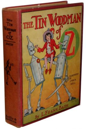 The Tin Woodman of Oz. L. Frank Baum.
