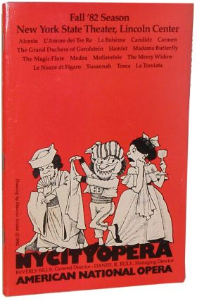 NY City Opera: Fall '82 Season, New York State Theater, Lincoln Center. Maurice Sendak