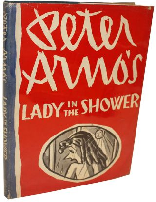 Lady in the Shower. Peter Arno.