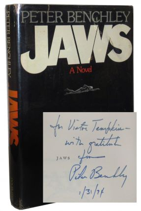 Jaws. Peter Benchley.