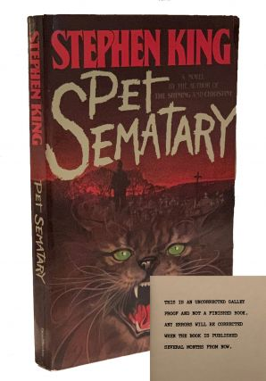 Pet Sematary. Stephen King